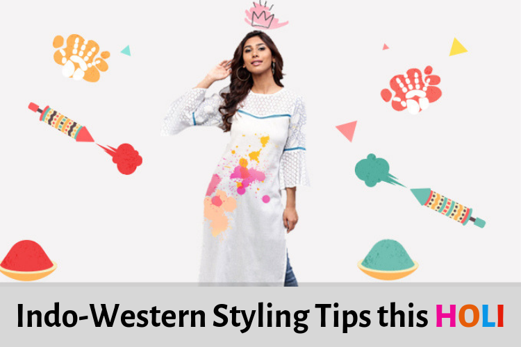 Indo-Western Styling tips this Holi